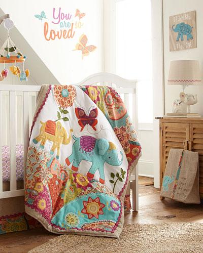 Zahara 5-Piece Crib Bedding Set