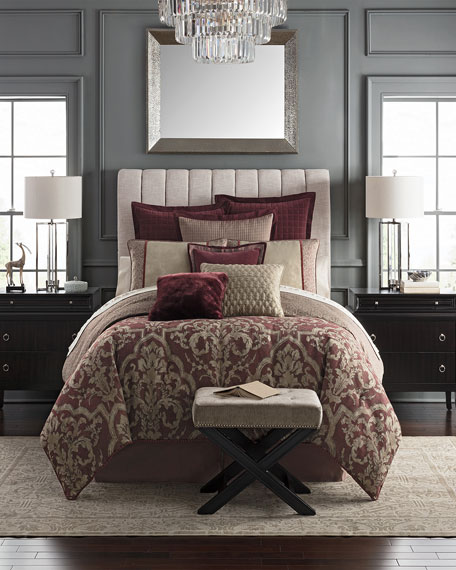 Waterford Amarah Reversible 4-Piece King Comforter Set