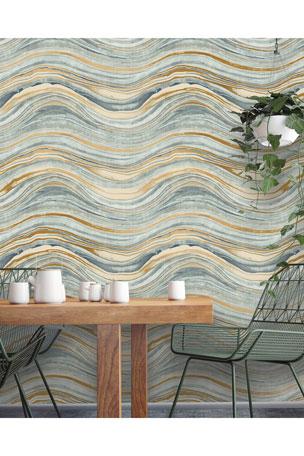 Tempaper Travertine Removable Wallpaper