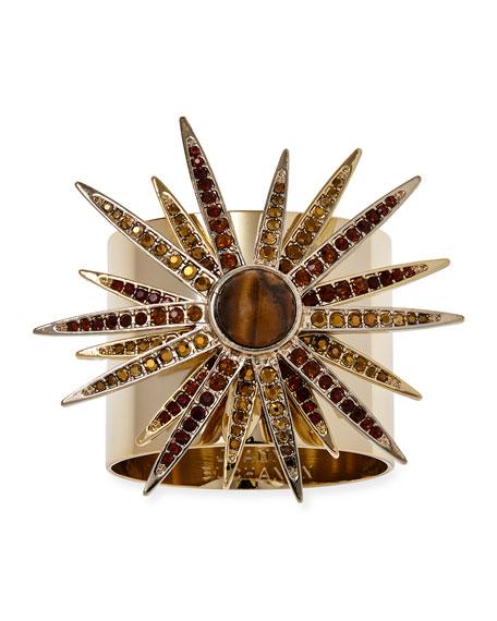 Joanna Buchanan Starburst Napkin Rings, Set of 2