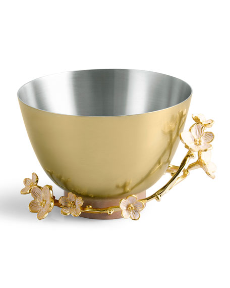 Image 1 of 2: Michael Aram Cherry Blossom Small Bowl