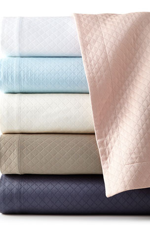 Sferra Full/Queen Diamond Pique Coverlet