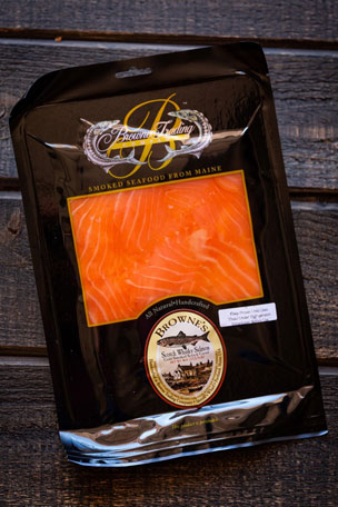 Browne Trading Company Scotch Cured Smoked Salmon, 4 oz.