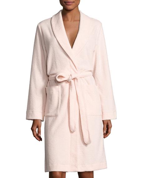 Plush Basic Tie-Waist Robe