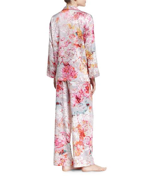 Autumn Notch Pajama Set, Multicolor