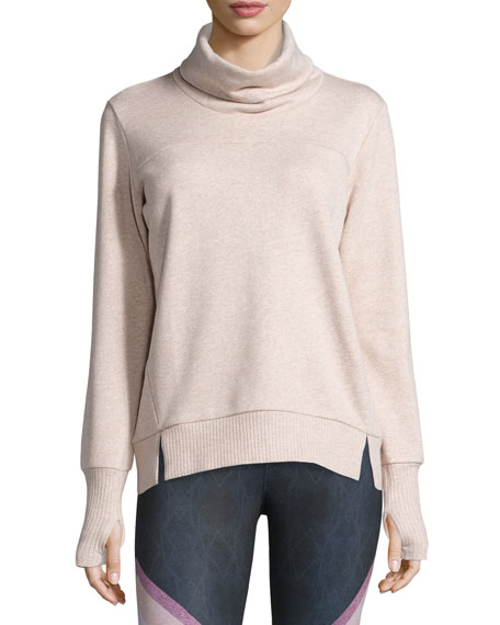 Haze Long-Sleeve Turtleneck Sweatshirt