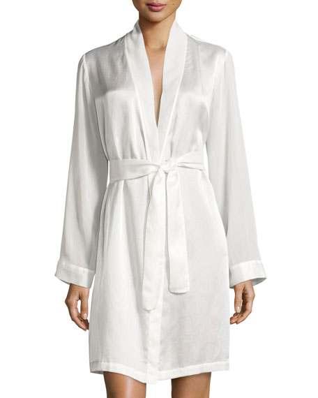 Jazztime Cotton-Silk Short Robe