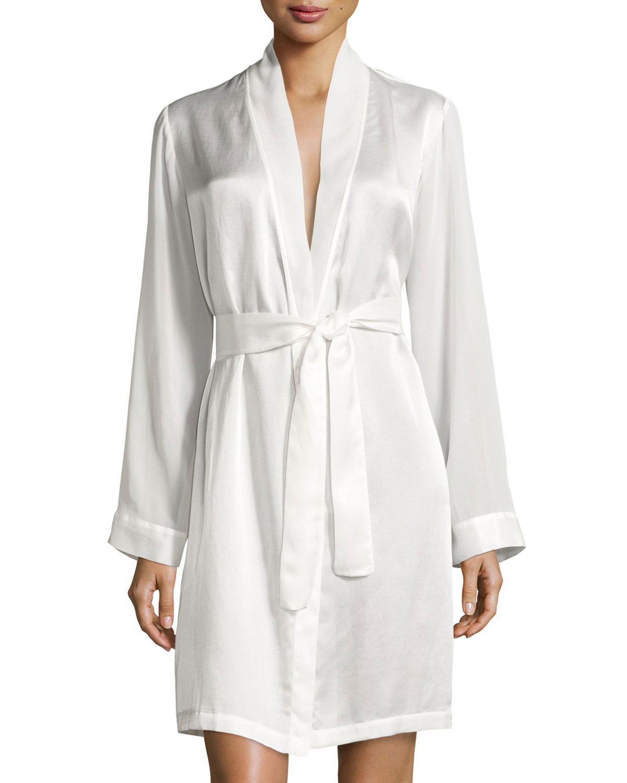 La Perla Jazztime Cotton-Silk Short Robe  7af4c3329