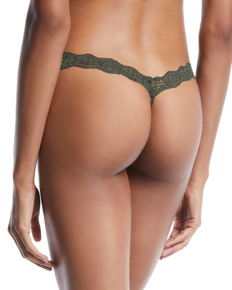 HAH / We Are HAH T-String Me Along Lace Thong Underwear