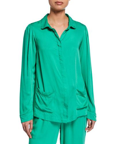 Rana Long-Sleeve Pajama Shirt