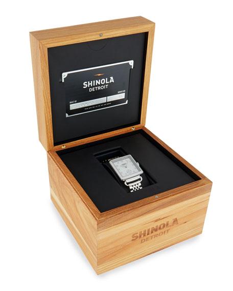 Shinola The Cass 28mm Bracelet Strap Watch with Diamonds