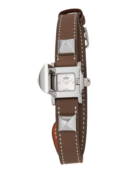 Hermès Medor Watch, 16 x 16 mm