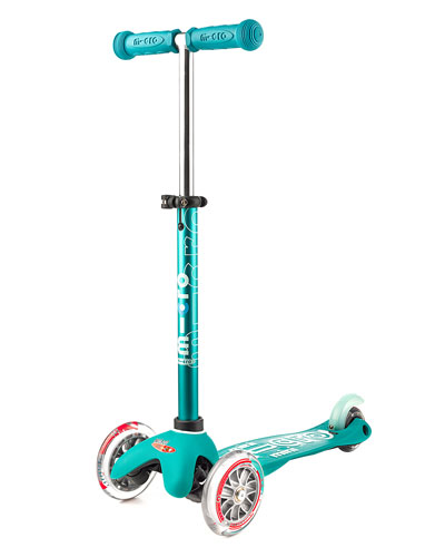 Micro Mini Deluxe Kick Scooter  Aqua  Ages 2-5