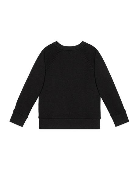 Crewneck Logo Sweatshirt, Size 4-12
