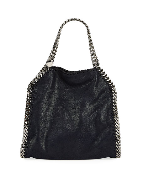 Stella McCartney Falabella Mini Tote Bag, Navy