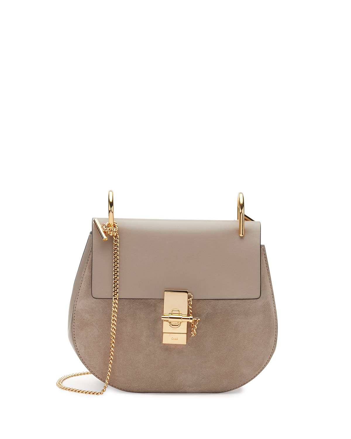 9d5c8109175ed Chloe Drew Small Chain Saddle Bag | Neiman Marcus