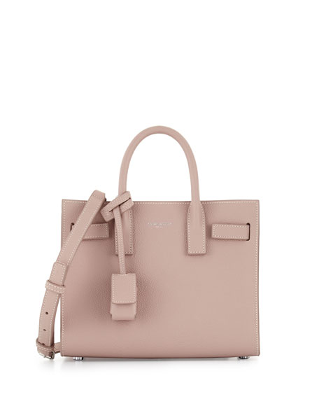 Saint Laurent Sac de Jour Nano Leather Satchel Bag