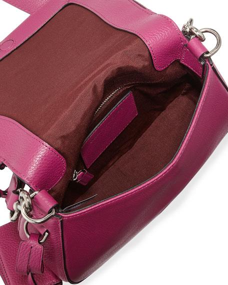 Recruit Small Leather Saddle Bag