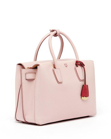 Milla Medium Leather Tote Bag