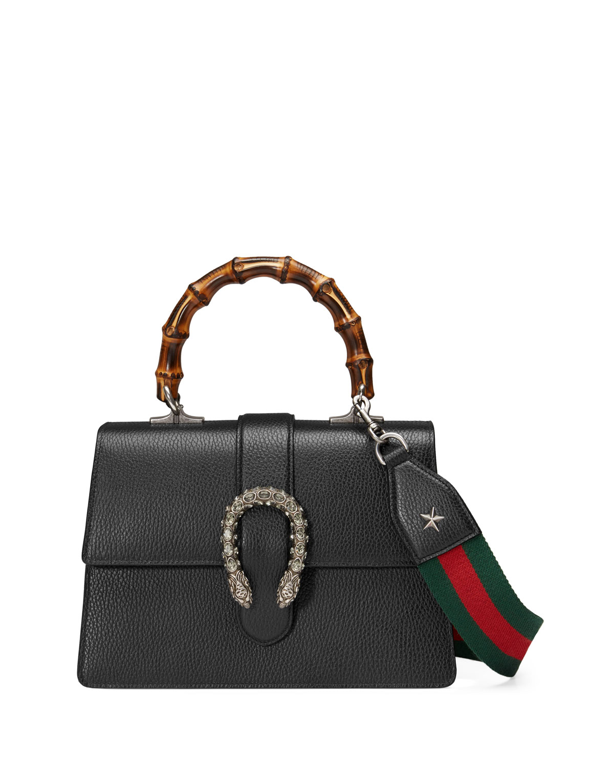 12fd73cfb79e Gucci Dionysus Small Leather Top-Handle Bag | Neiman Marcus