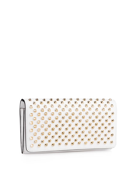 Macaron Spiked Flap Wallet
