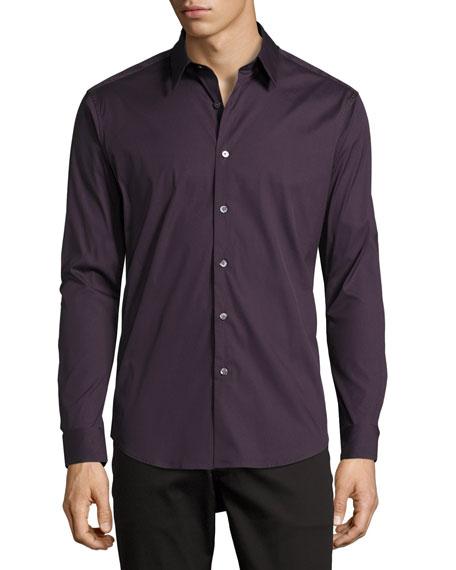 Sylvain Sport Shirt, Wine