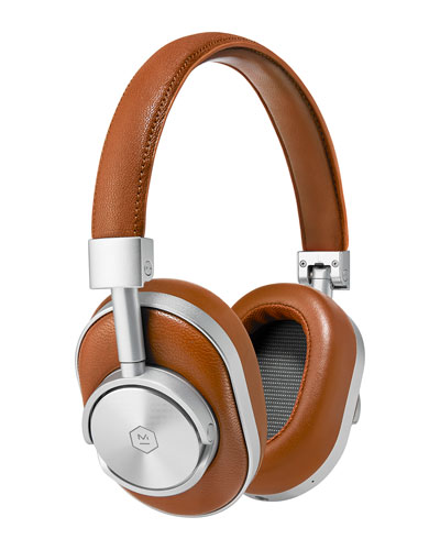 MW60 Wireless Over-Ear Headphones, Brown/Cognac