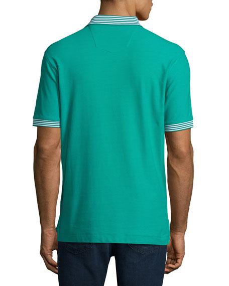 Axelrod Stripe-Detail Polo Shirt