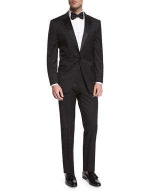 5165b478b4e BOSS Huge Genius Peak-Lapel Slim Tuxedo