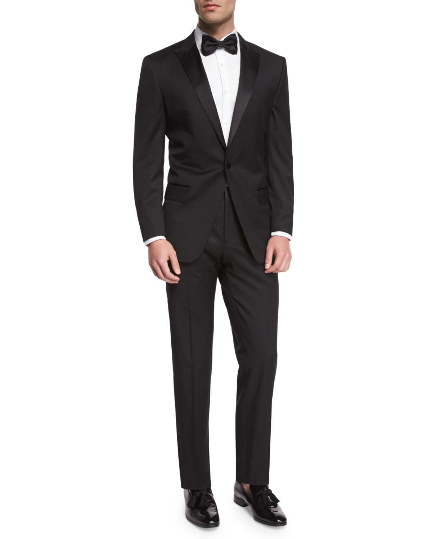 d6bf3a44176 BOSS Huge Genius Peak-Lapel Slim Tuxedo