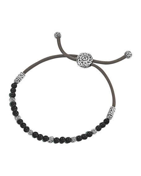 John Hardy Black Onyx Bead Bracelet