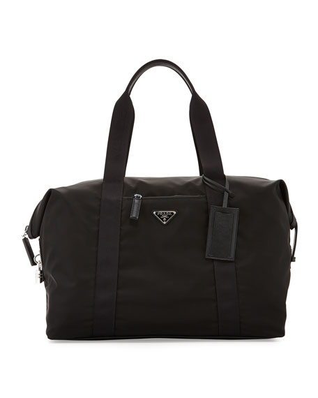 men's prada duffle bag