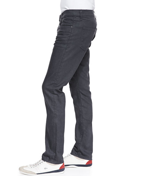 Image 2 of 4: J Brand Men's Tyler Slate Resin Jeans