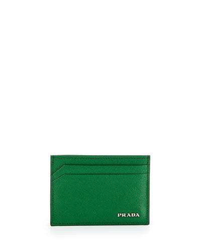 PRADA Camo-Print Nylon Dopp Kit, Blue