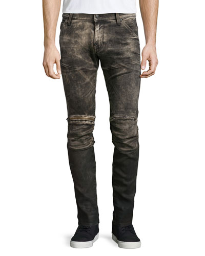 5620 3D Medium-Aged Slim Jeans, Indigo