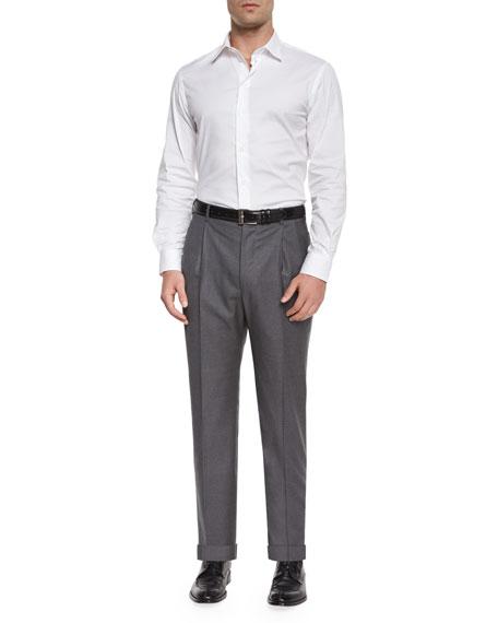 Bennett Pleated Super 150's Trousers