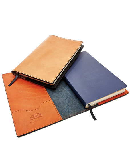 Journal Set with Leather Cover