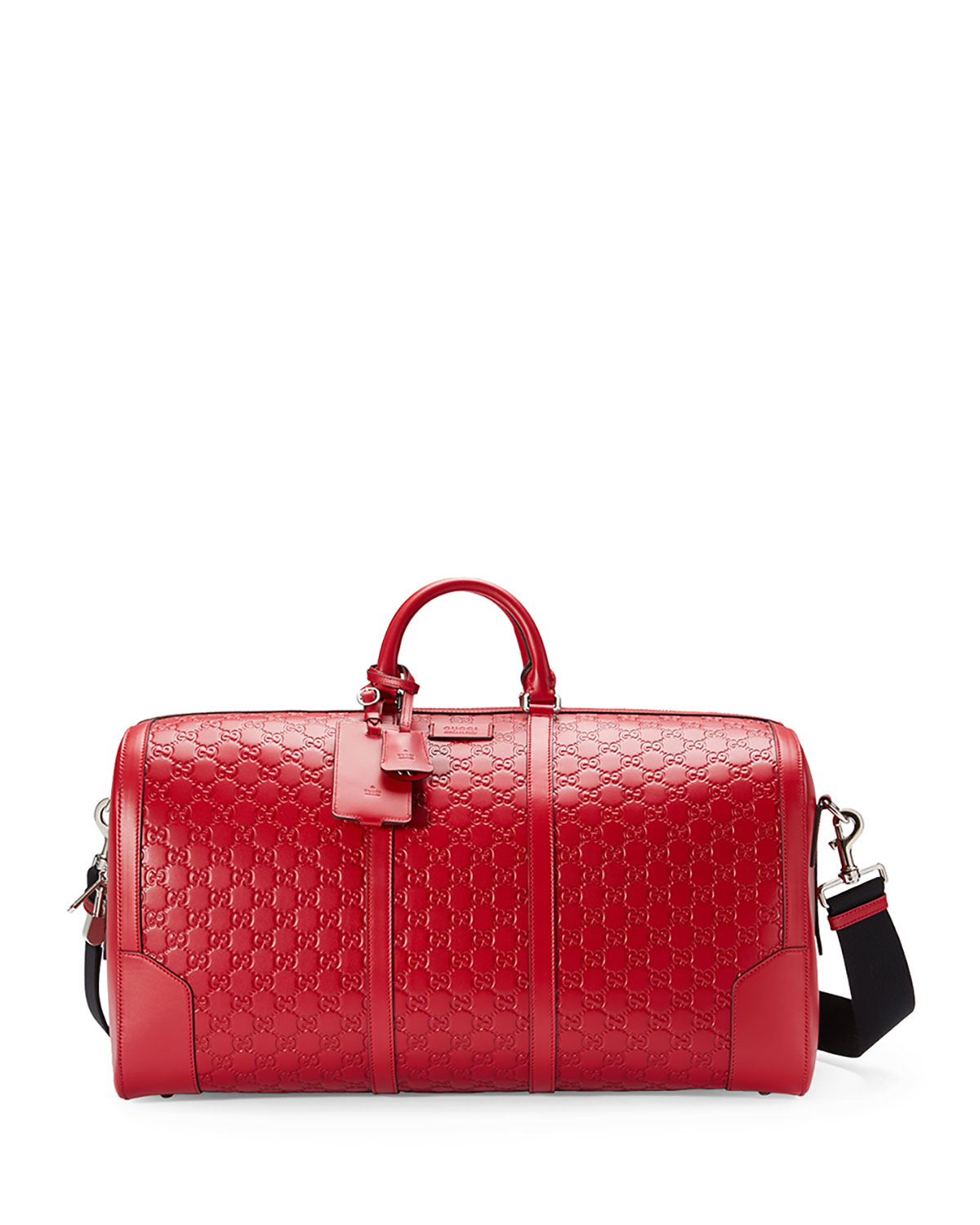 7cfca075dfc Gucci Signature Large Leather Duffel Bag
