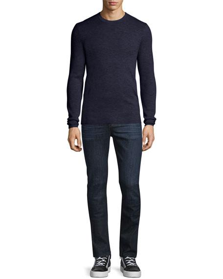 Interlock Long-Sleeve Cashmere Sweater