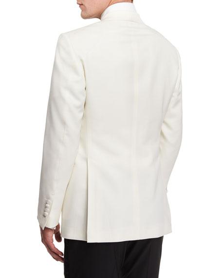 TOM FORD Windsor Base Dinner Jacket, White