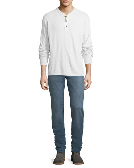 Men's Tyler Slim-Fit Pima Cotton Jeans, Hammerhead