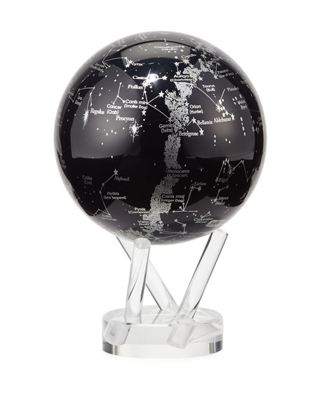 Mova Globe MOVA?? Space Constellations Globe, Black/Silver