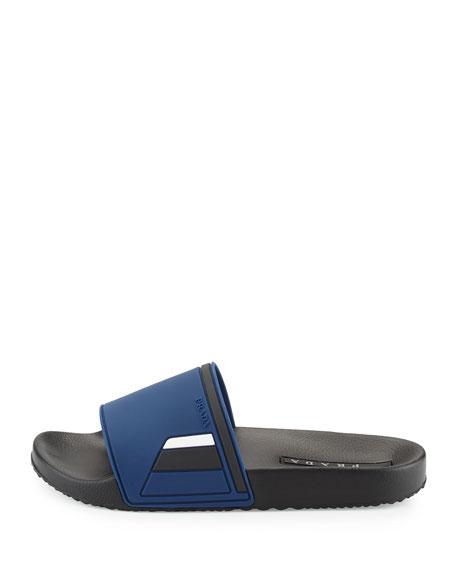 Men's Colorblock Rubber Slide Sandal