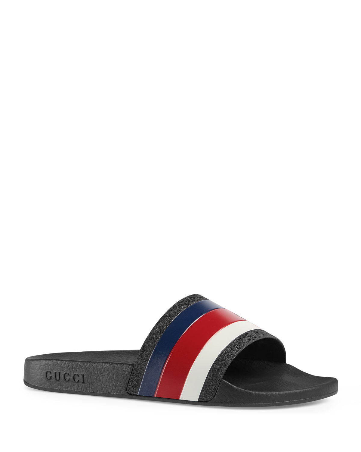e9d675dcba7 Gucci Pursuit  72 Rubber Slide Sandal
