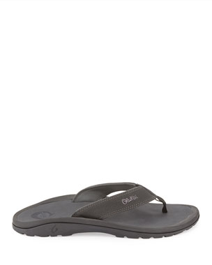 85115aa7a6cb Men's Designer Sandals & Flip Flops at Neiman Marcus