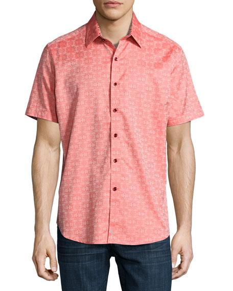 Cullen Short-Sleeve Sport Shirt