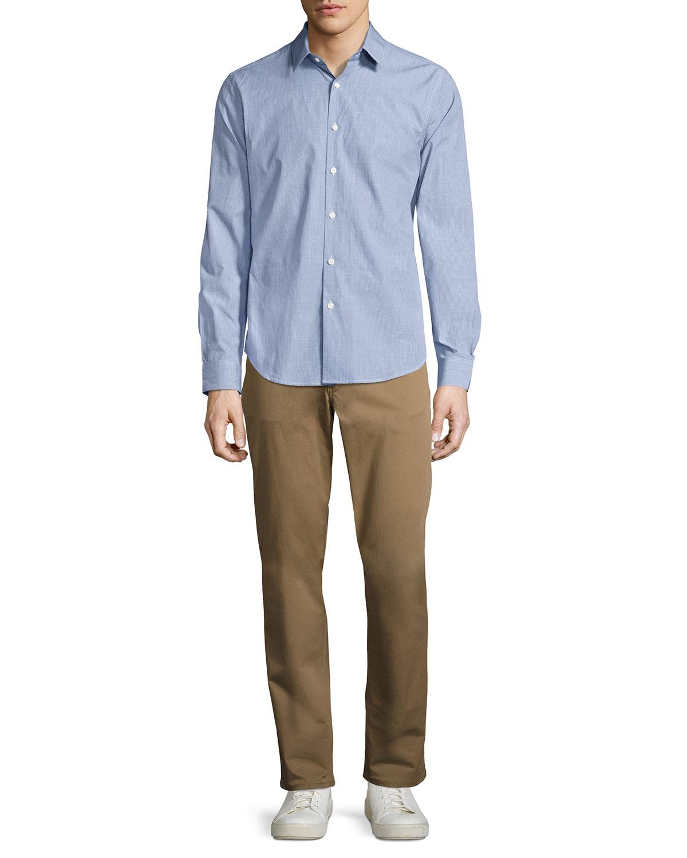 3e4102baea5 Theory Haydin Stretch Cotton Pant | Neiman Marcus
