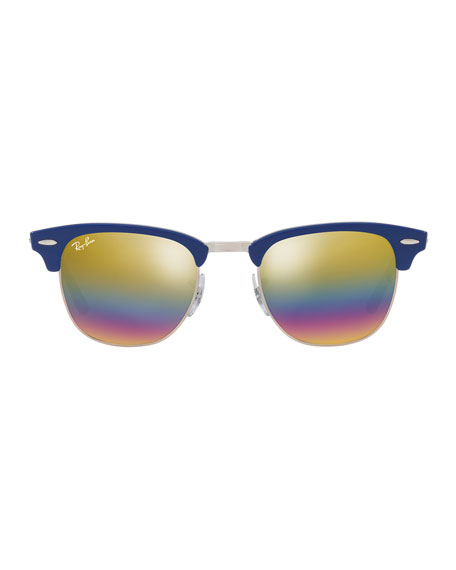 Classic Men's Clubmaster Sunglasses