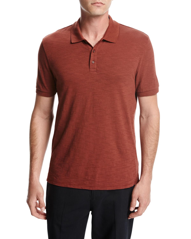 Vince Classic Slub Cotton Polo Shirt Discount Cheap Cheap Sale New Styles Many Styles Cheap Sale New Arrival ZbxBbxCS4