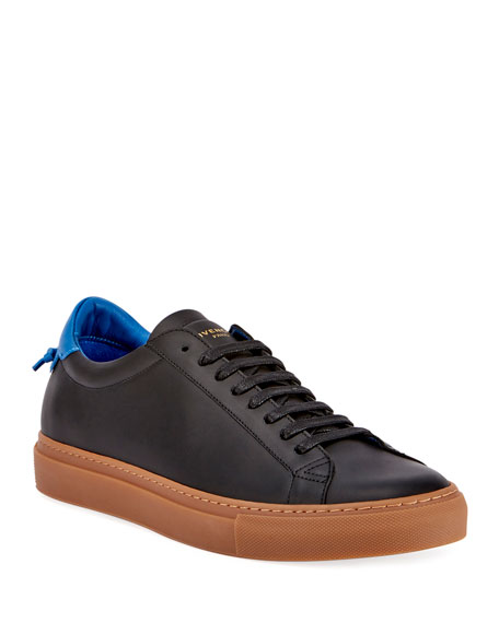 Givenchy Men's Urban Knot Leather Low-Top Sneakers
